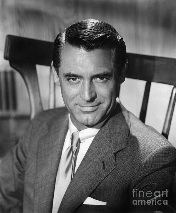 20th Century Poster featuring the photograph Cary Grant (1904-1986) by Granger