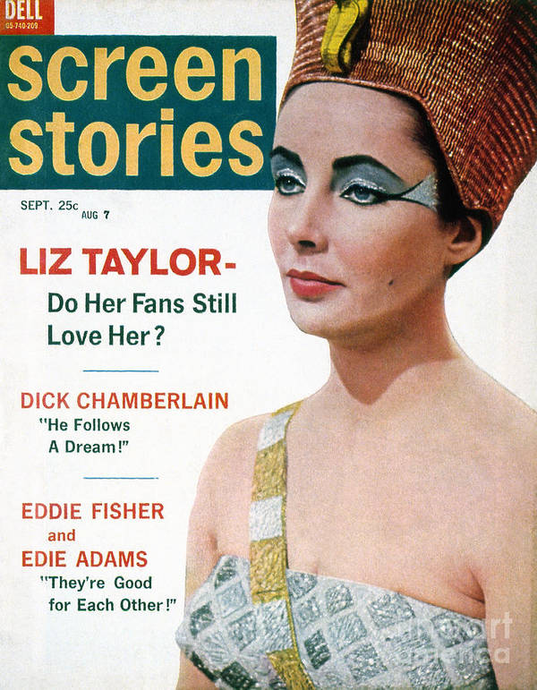 1962 Poster featuring the photograph Celebrity Magazine, 1962 by Granger