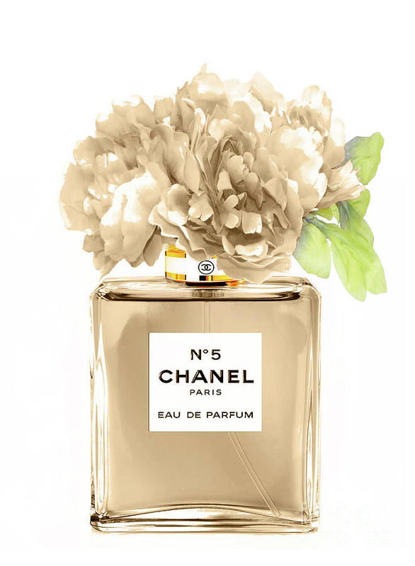 Chanel perfume n.5 beige by Green Palace