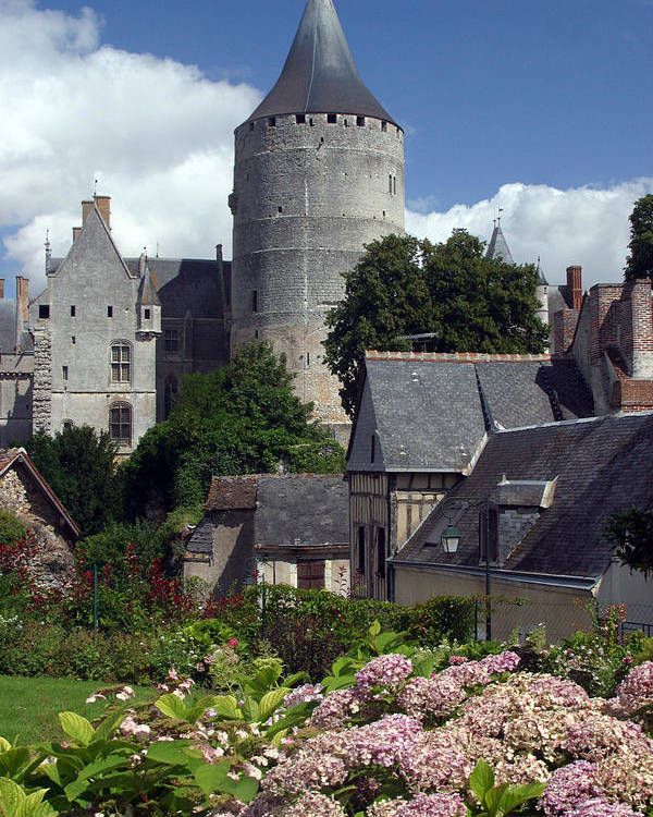 Photographer Poster featuring the photograph Chateaudun 3 by Jez C Self