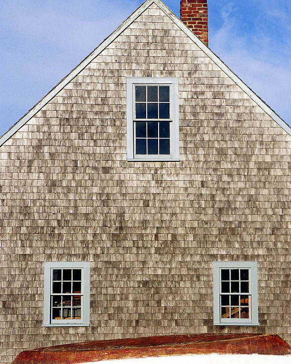 cape Cod Poster featuring the photograph Chatham Boathouse by John Greim