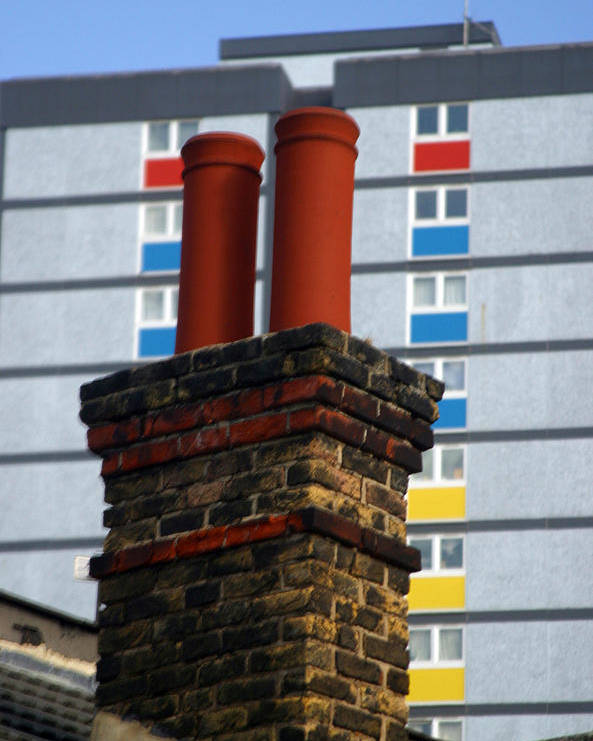 Jez C Self Poster featuring the photograph Chimney High by Jez C Self