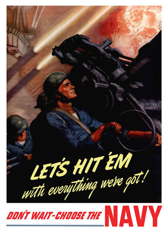Choose The Navy -- Ww2 Poster