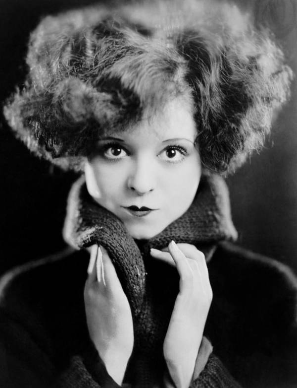 1920s Hairstyles Poster featuring the photograph Clara Bow, Ca. 1924 by Everett