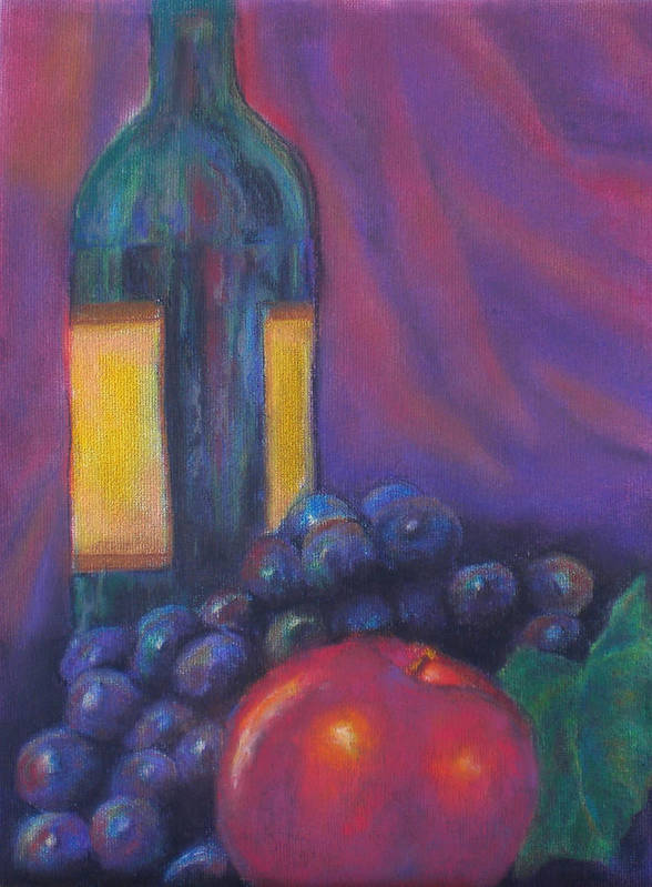 Pastel Poster featuring the painting Clarity by Lou Ewers