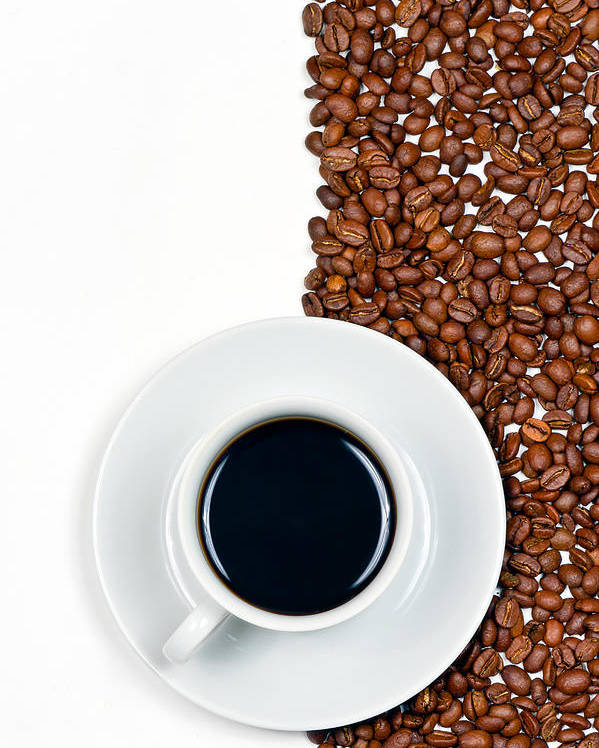 Aroma Poster featuring the photograph Coffee by Gert Lavsen