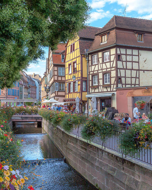 Alsace Poster featuring the photograph Colmar France by W Chris Fooshee