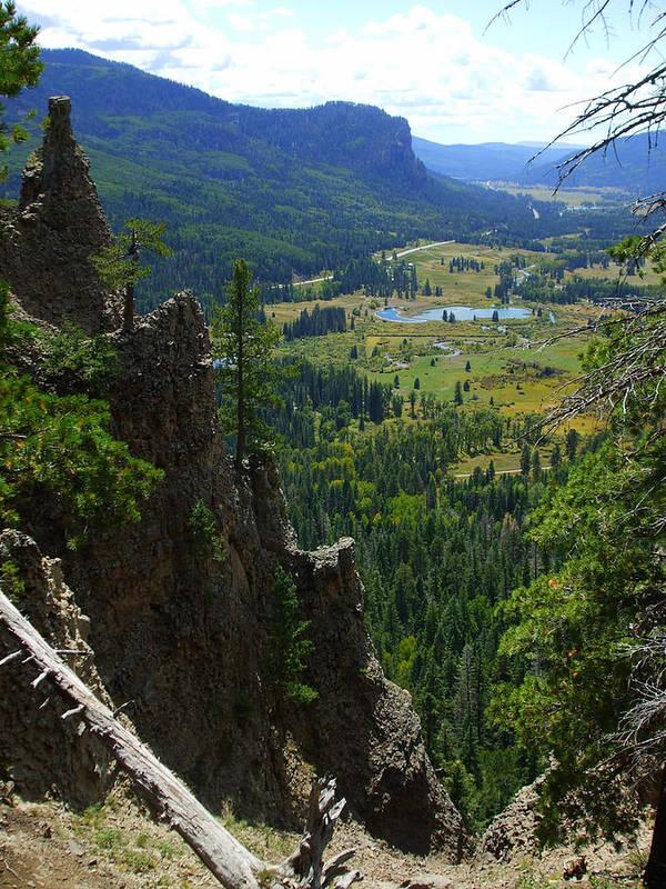 Colorado Poster featuring the photograph Colorado Landscape by Allison Jones