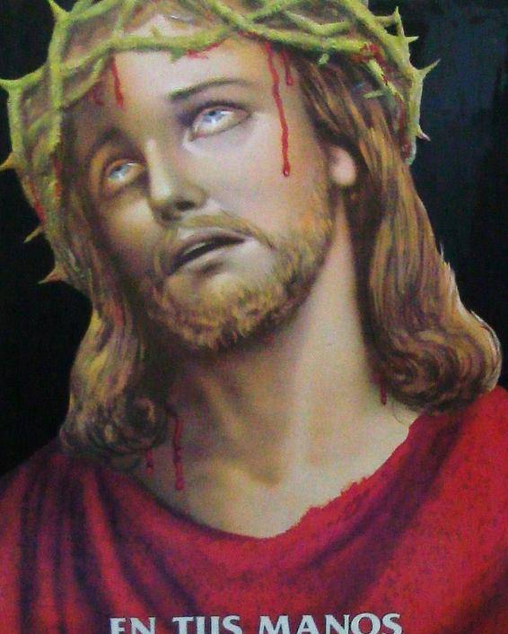 Crown Poster featuring the painting Crown Of Christ by Unique Consignment