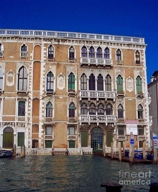 Venice Poster featuring the photograph Cruising The Grand Canal 3 by Debbie Fenelon