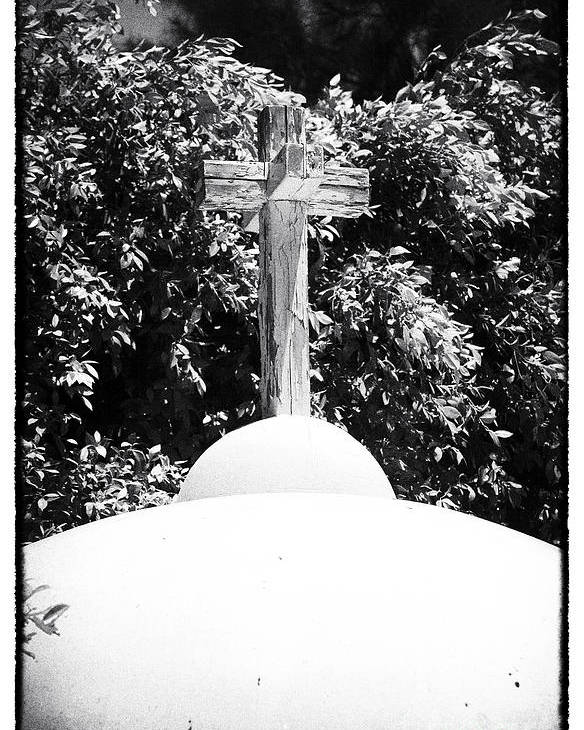 Cypriotic Crucifix Poster featuring the photograph Cypriotic Crucifix by John Rizzuto