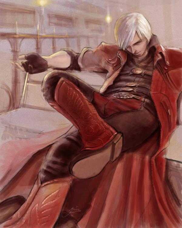 Dante Poster featuring the digital art Dante by Alvin Goh