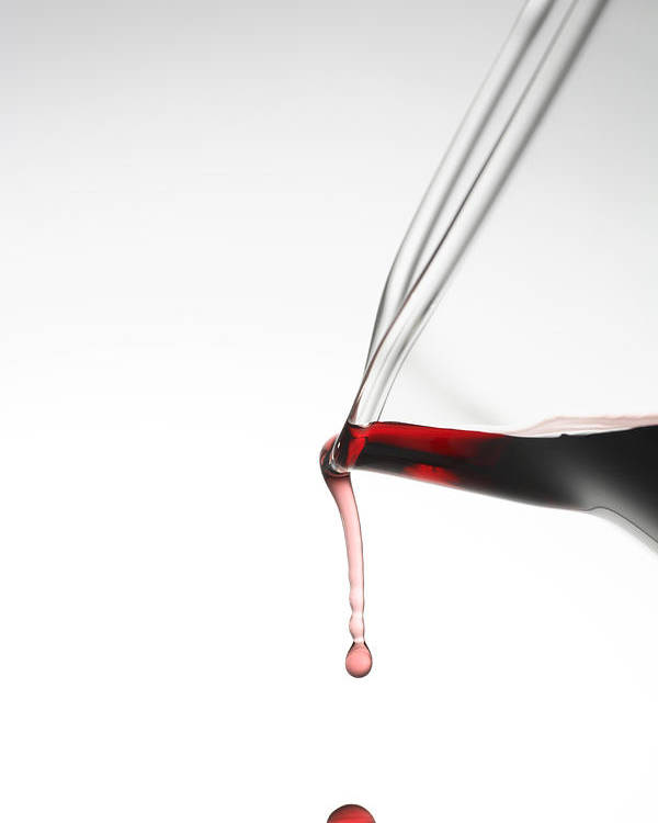 Wine Poster featuring the photograph Decanter by Frank Tschakert