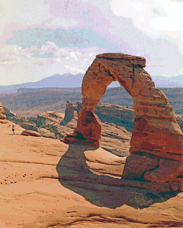 Arches Poster featuring the photograph Delicate Arch 3 by Steve Ohlsen
