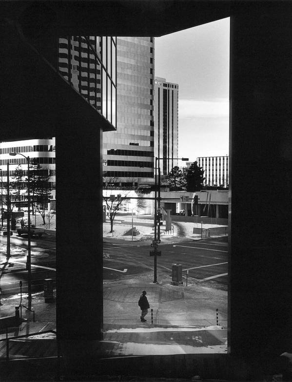 Denver Poster featuring the photograph Denver Sunday Morning by Jim Furrer
