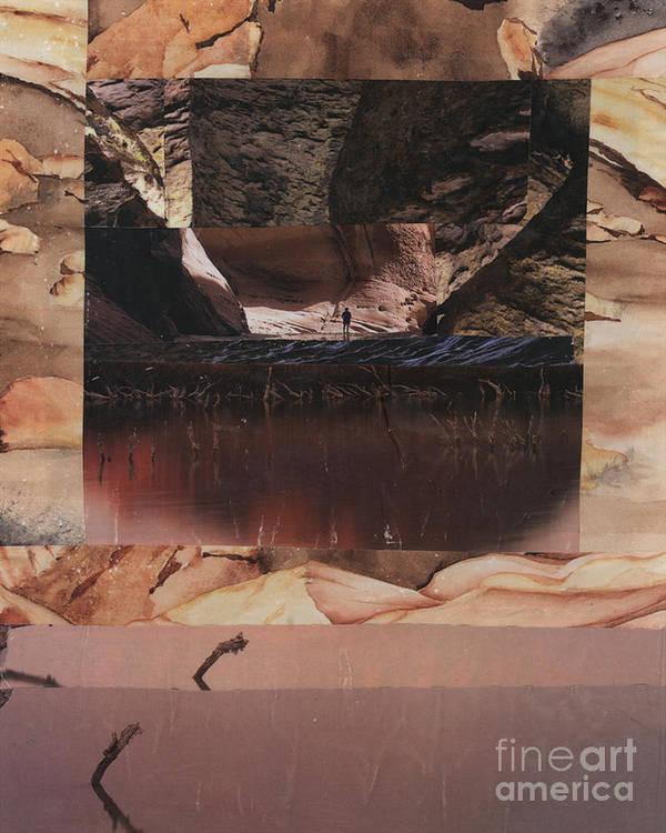 Desert Light Poster featuring the painting Desert Light - Bgdel by Fr Bob Gilroy SJ