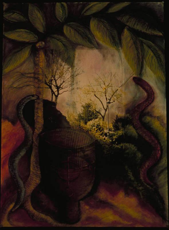 Haiti Poster featuring the painting Diaspora by Barbara Nesin