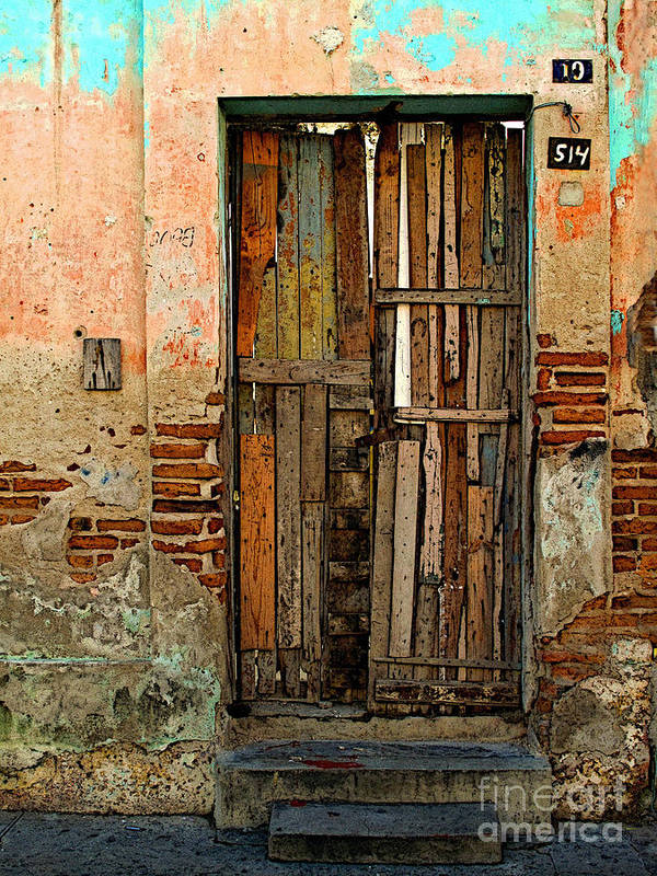 Mexico Poster featuring the photograph Dilapidated by Mexicolors Art Photography