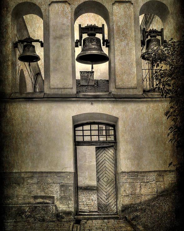 Ukraine Poster featuring the photograph Door Bells by Evelina Kremsdorf