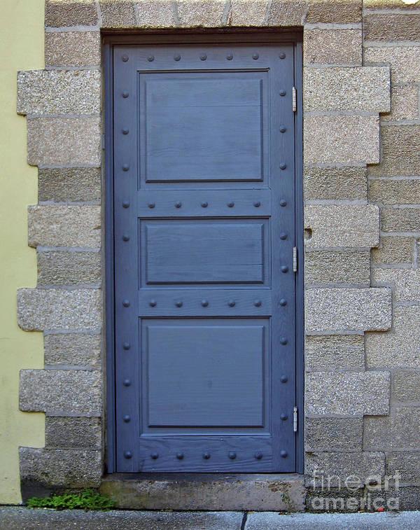 Door Poster featuring the photograph Door With No Handle by D Hackett