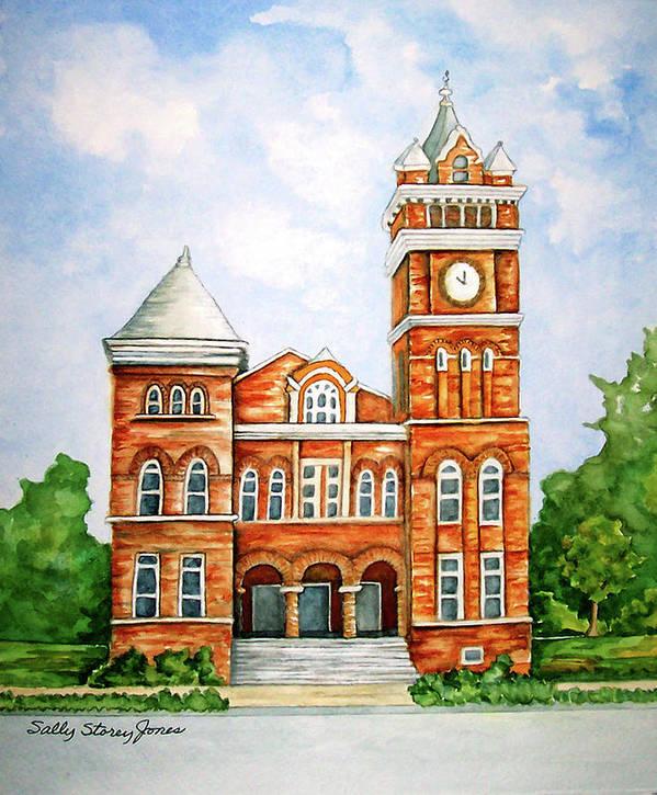 Douglasville Ga  Douglas County Courthouse Poster
