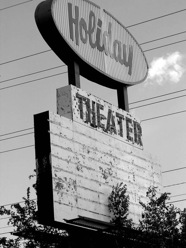 Drive-in Retro Poster featuring the photograph Drive-in by Audrey Venute