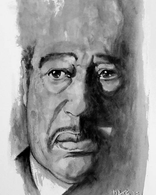 Celebrity Poster featuring the digital art Duke Ellington by William Walts
