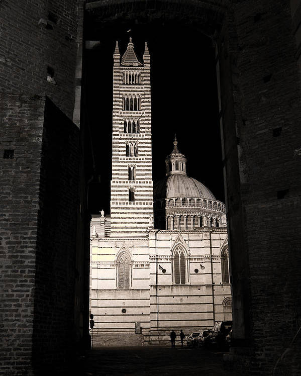 Italy Poster featuring the photograph Duomo Di Siena by Carl Jackson