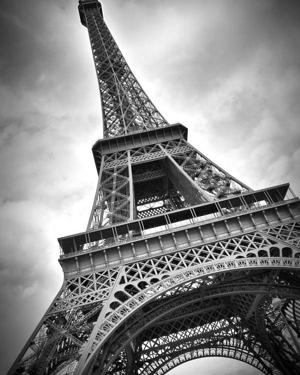 Europe Poster featuring the photograph Eiffel Tower Dynamic by Melanie Viola
