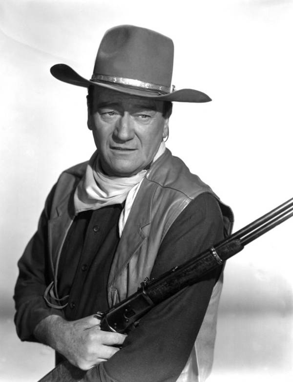 1960s Portraits Poster featuring the photograph El Dorado, John Wayne, 1966 by Everett