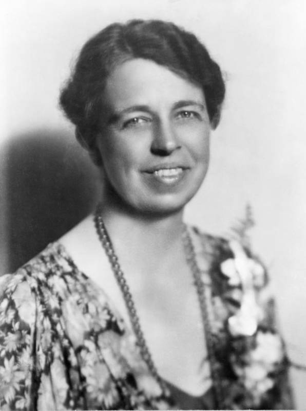 History Poster featuring the photograph Eleanor Roosevelt 1884-1962 In July by Everett