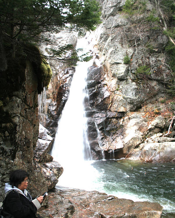 Poster featuring the photograph Ellis Falls 001 by Jeremy McKay