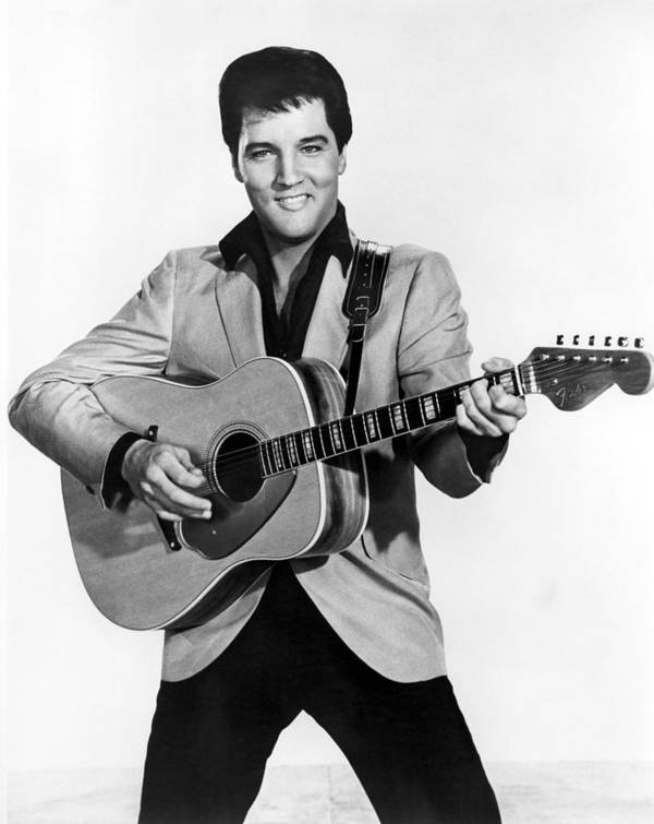 1950s Portraits Poster featuring the photograph Elvis Presley, C. Mid-1960s by Everett
