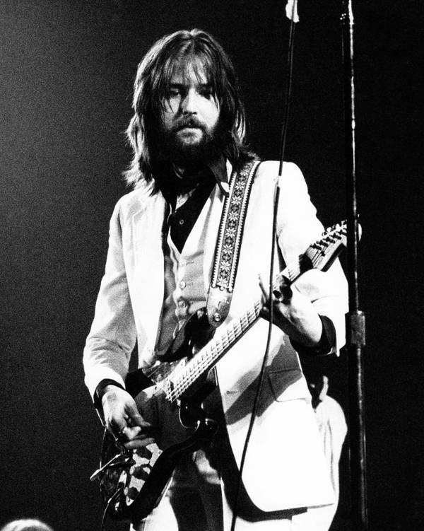 Eric Clapton Poster featuring the photograph Eric Clapton 1973 by Chris Walter