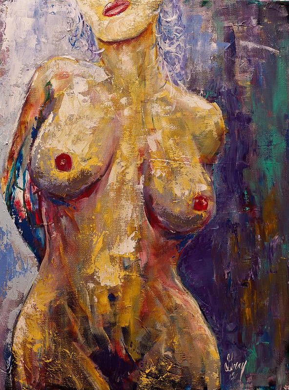Nude Women Uv Painting
