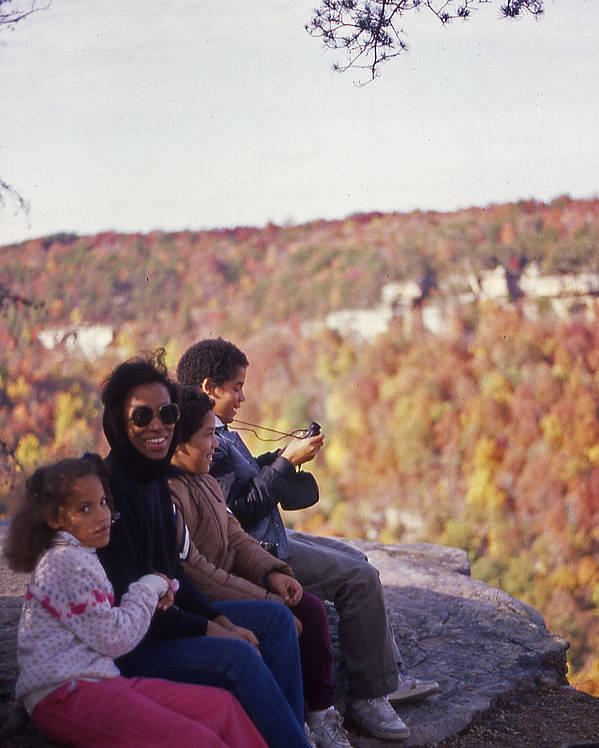 Family Poster featuring the photograph Family Outing by Randy Muir