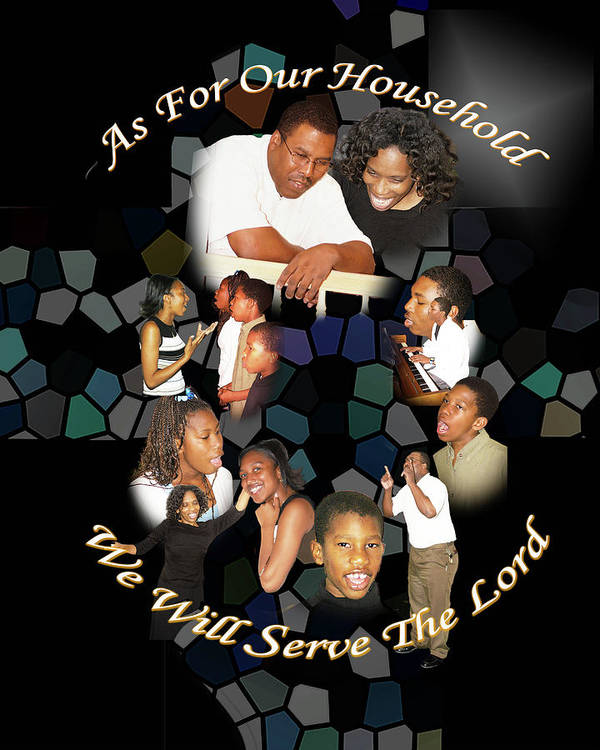 Family Poster featuring the photograph Family Serving by Richard Gordon