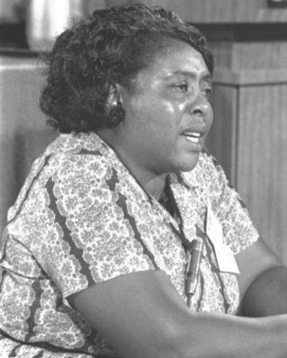 History Poster featuring the photograph Fannie Lou Hamer 1917-1977 by Everett