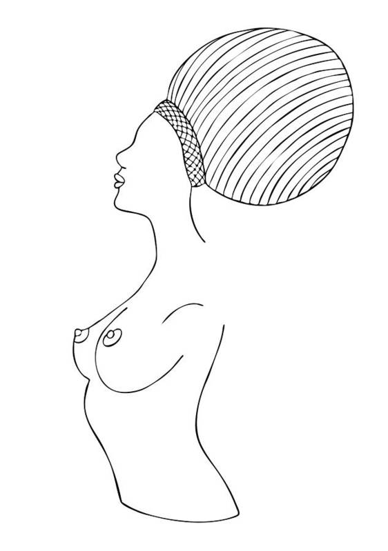 Fashion Illustrations Poster featuring the drawing Fashion Drawing by Frank Tschakert