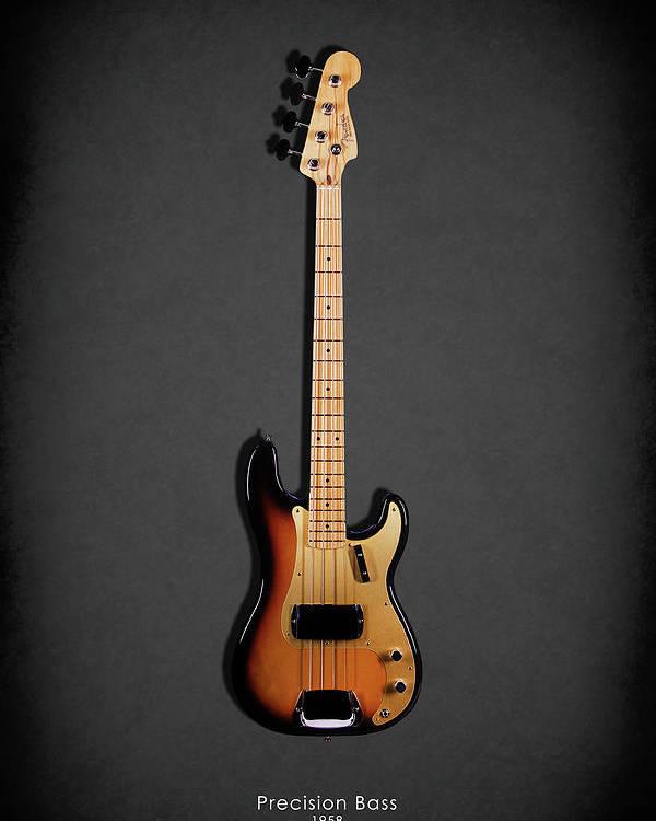 Fender Precision Bass 58 Poster