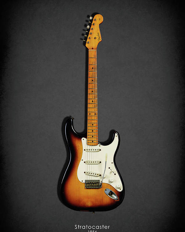 Fender Stratocaster Poster featuring the photograph Fender Stratocaster 54 by Mark Rogan