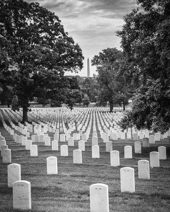 Arlington National Cemetary Poster featuring the photograph Final Rest by Frank Mari