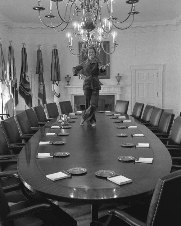 History Poster featuring the photograph First Lady Betty Ford Dances by Everett