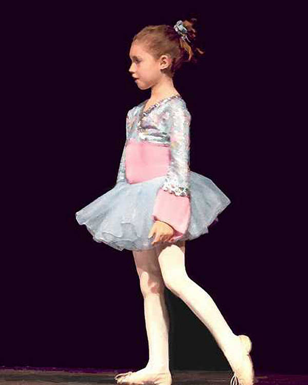 Child Ballerina. Poster featuring the digital art First Recital by John Helgeson