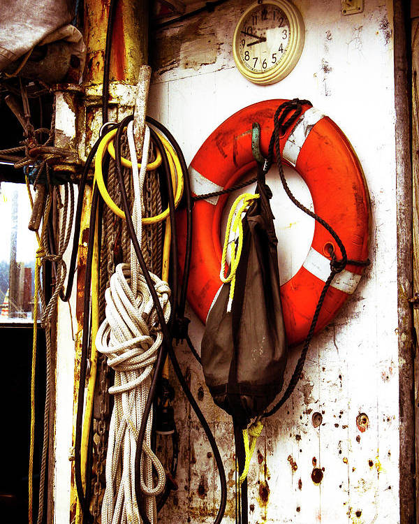 Boats Poster featuring the photograph Fishing Life by Janine Moore