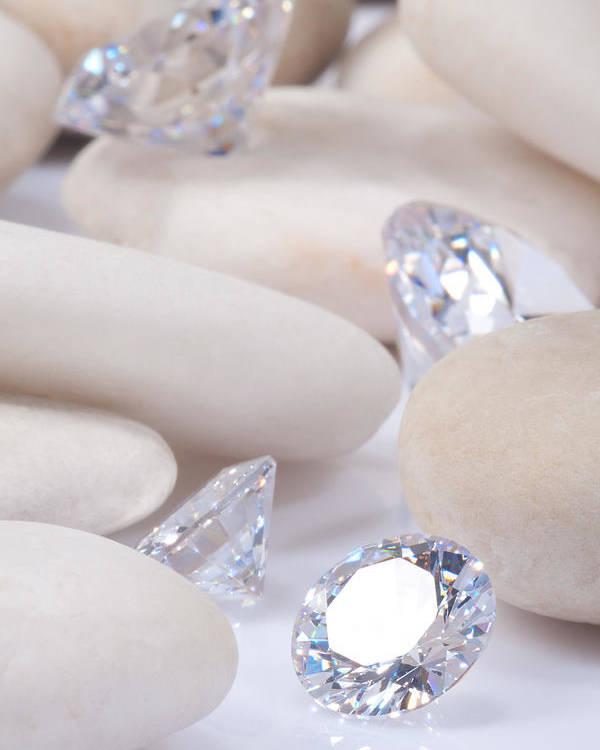 Abundance Poster featuring the jewelry Flashing Diamond by Atiketta Sangasaeng