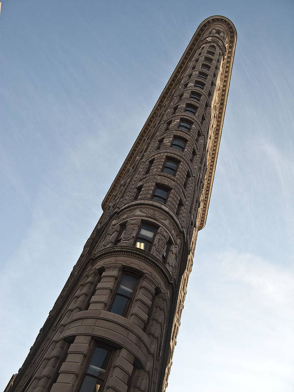 Sky Poster featuring the photograph Flatiron No1 by Dan Andersson