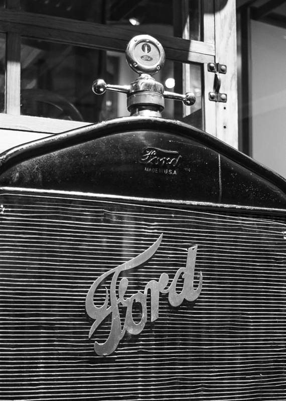 Antique Car Poster featuring the photograph Ford Truck by Paul Moore
