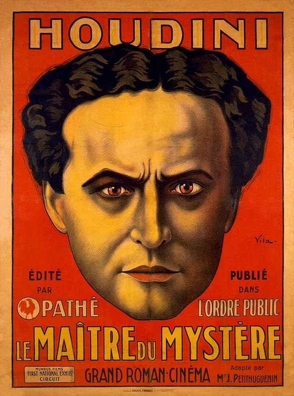 History Poster featuring the photograph French Poster Advertising Harry by Everett