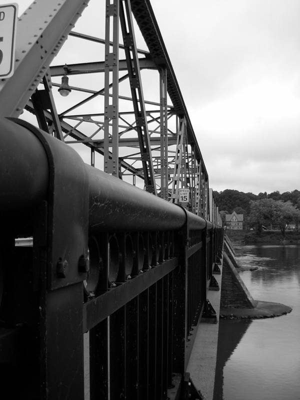 Bridges Poster featuring the photograph Frenchtown Bridge by Amanda Vouglas